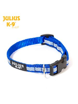 IDC tubular webbing collar, BLUE