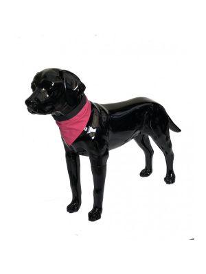 Pink Dog Bandana Large