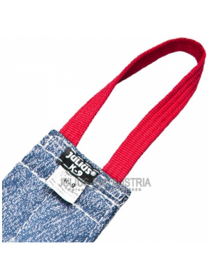teasing tug 23.62 in / 60 cm cotton and nylon with 1 handle