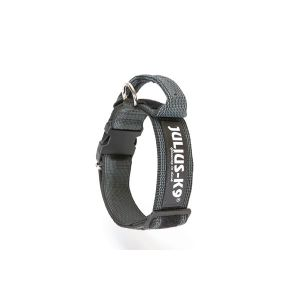 Dog Safety Collar with Handle - Black - Small (40mm)
