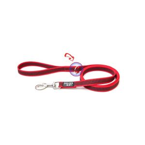 Red K9 Super grip Narrow (14mm) 1.2 m - with handle