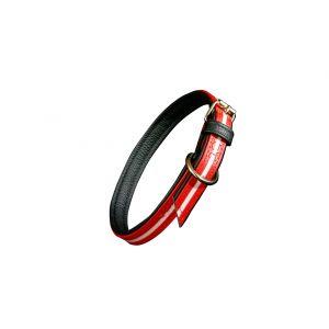 IDC Lumino Fluorescent Dog Collar - Red - Small (45cm)