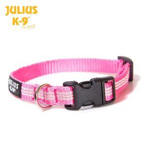 tubular IDC®  webbing collar, PINK