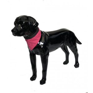 Pink Dog Bandana Large