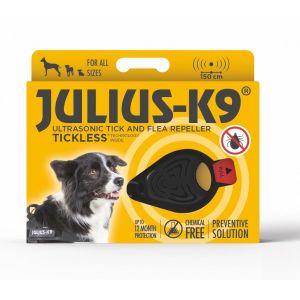 Ultrasonic Tick & Flea Repellent Collar Attachment (Black)