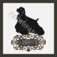 American Cocker Spaniel Welcome Sign