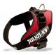 4 Size Red Collar IDC Powerharness