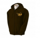 K9 Units Hoodie Pullover, Size: XXL, Color: Black