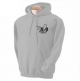 K9 Units Hoodie Pullover, Size: XL, Color: Grey