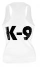 K9 Singlet White - Female, Size: XL