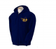 K9 Units Hoodie With Full Zip, Size: L, Color: Navy-Blue