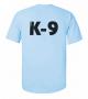 K9 Units T-Shirt Size: S, Color: light blue