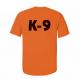 K9 Units T-Shirt Size: S, Color: Orange