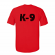 K9 Units T-Shirt Size: S, Color: Red