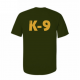 K9 Units T-Shirt Size: M, Color: Olive