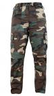 K9 zipp-off trousers Military, Size: 54