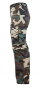 K9 zipp-off trousers Military, Size: 50