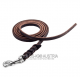 leather leash carabiner