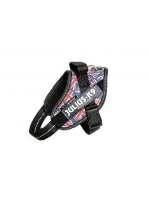 Union Jack Dog Harness - Extra Small Dog (mini)