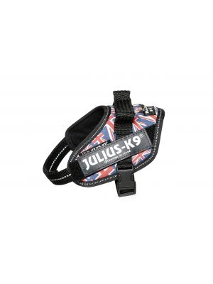 Union Jack Dog Harness - Extra Extra Small Dog (mini-mini)