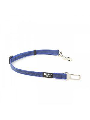 Blue & Grey safety belt adapter for dogs under 25 kg