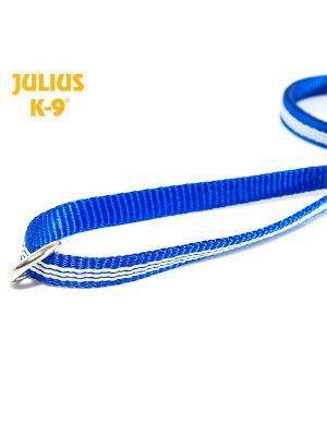 IDC® Tubular webbing Leash BLUE with handle and O ring