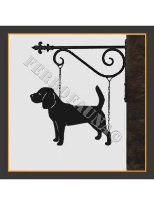 Beagle Hanging House Sign