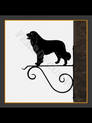 Bernese Mountain Dog Hanging Basket Bracket