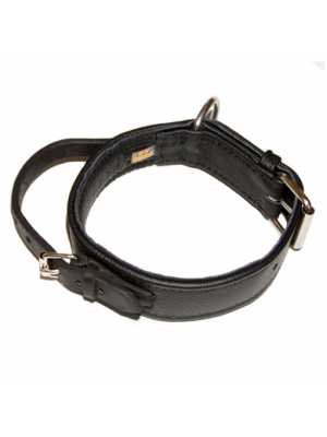 Handle Leather Dog Collar