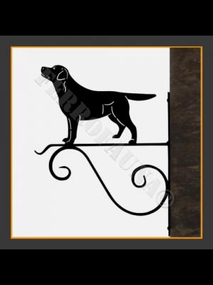 Labrador Retriver Hanging Basket Bracket