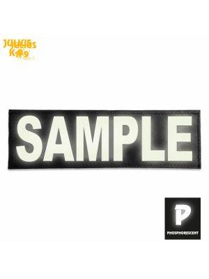 """Personalised, unique """"wish"""" label - LARGE - Phosphorescent"""