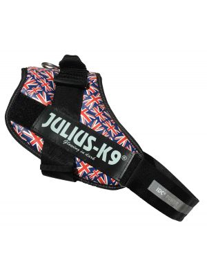 UNION JACK (British Flag) harness - Size 4