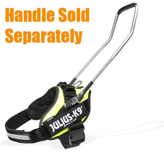 promo of IDC guide dog harness with handle